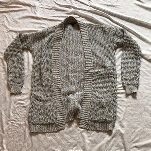 Express open front cardigan